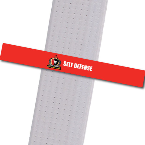 Haynes Martial Arts-Self Defense Custom Belt Stripes - BeltStripes.com : The #1 Source for Martial Arts Belt Tape