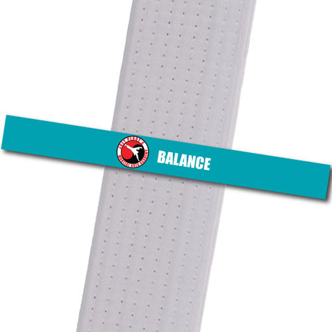 Joey Perry MA - Balance Custom Belt Stripes - BeltStripes.com : The #1 Source for Martial Arts Belt Tape