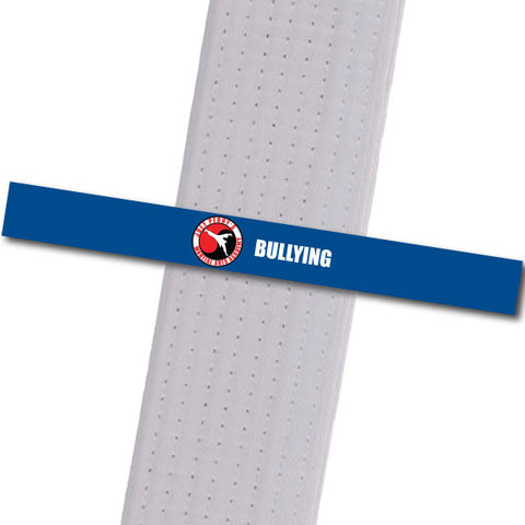 Joey Perry MA - Bullying Custom Belt Stripes - BeltStripes.com : The #1 Source for Martial Arts Belt Tape