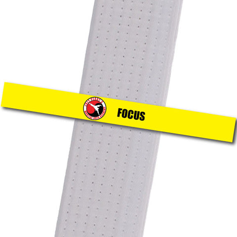 Joey Perry MA - Focus Custom Belt Stripes - BeltStripes.com : The #1 Source for Martial Arts Belt Tape