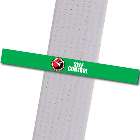 Joey Perry MA - Self Control Custom Belt Stripes - BeltStripes.com : The #1 Source for Martial Arts Belt Tape