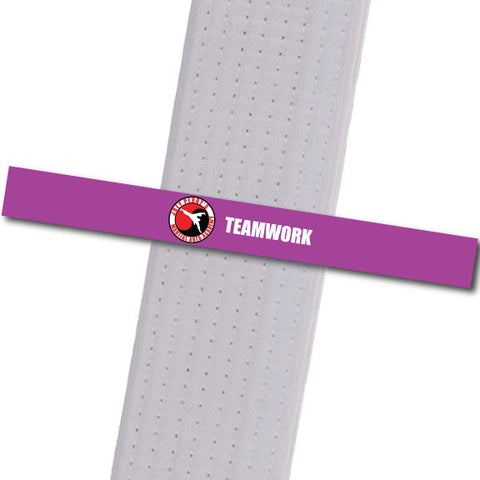 Joey Perry MA - Teamwork Custom Belt Stripes - BeltStripes.com : The #1 Source for Martial Arts Belt Tape
