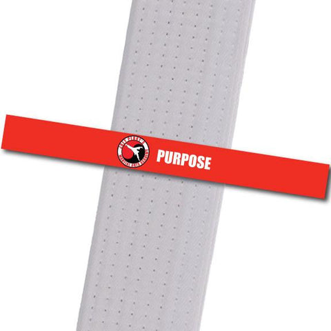 Joey Perry MA - Purpose Custom Belt Stripes - BeltStripes.com : The #1 Source for Martial Arts Belt Tape