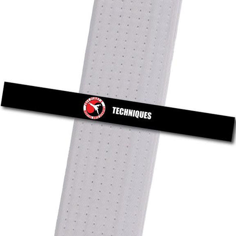 Joey Perry MA - Techniques Custom Belt Stripes - BeltStripes.com : The #1 Source for Martial Arts Belt Tape