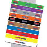 Karate America - Daniel Gimenez - Sets of all 10 Stripes Karate America - Daniel Gimenez - BeltStripes.com : The #1 Source for Martial Arts Belt Tape