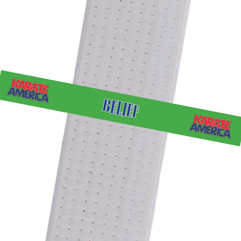 Karate America- Daniel Gimenez - Belief Karate America - Daniel Gimenez - BeltStripes.com : The #1 Source for Martial Arts Belt Tape