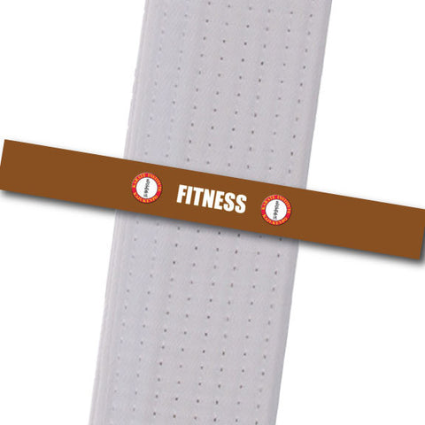Karate Institute - Fitness Custom Belt Stripes - BeltStripes.com : The #1 Source for Martial Arts Belt Tape