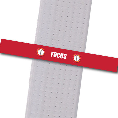Karate Institute - Focus Custom Belt Stripes - BeltStripes.com : The #1 Source for Martial Arts Belt Tape