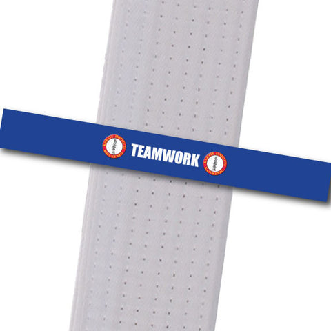 Karate Institute - Teamwork Custom Belt Stripes - BeltStripes.com : The #1 Source for Martial Arts Belt Tape