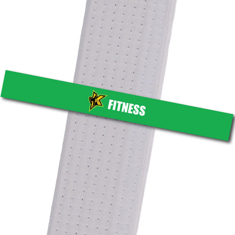 Kickers Martial Arts - Fitness Achievement Stripes - BeltStripes.com : The #1 Source for Martial Arts Belt Tape