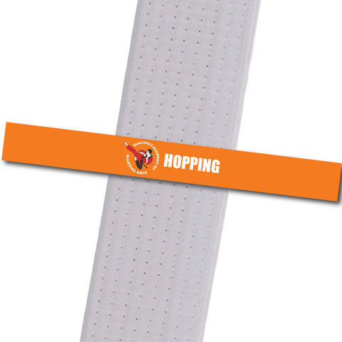 Kimling's Academy - Hopping Achievement Stripes - BeltStripes.com : The #1 Source for Martial Arts Belt Tape