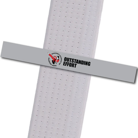 Kimling's Academy - Outstanding Effort Achievement Stripes - BeltStripes.com : The #1 Source for Martial Arts Belt Tape