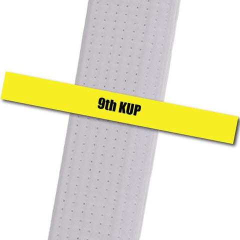 Kim's Tae Kwon Do - 9th Kup - BeltStripes.com