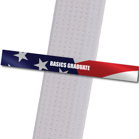 Kinder Karate - Basics Graduate Custom Belt Stripes - BeltStripes.com : The #1 Source for Martial Arts Belt Tape