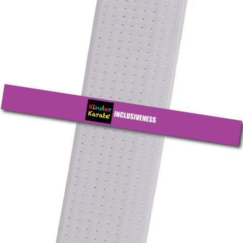 Kinder Karate - Inclusiveness Custom Belt Stripes - BeltStripes.com : The #1 Source for Martial Arts Belt Tape