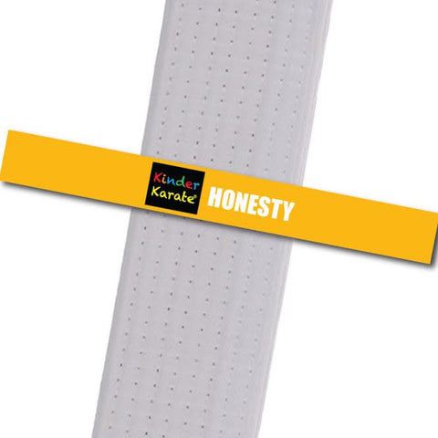 Kinder Karate - Honesty Custom Belt Stripes - BeltStripes.com : The #1 Source for Martial Arts Belt Tape