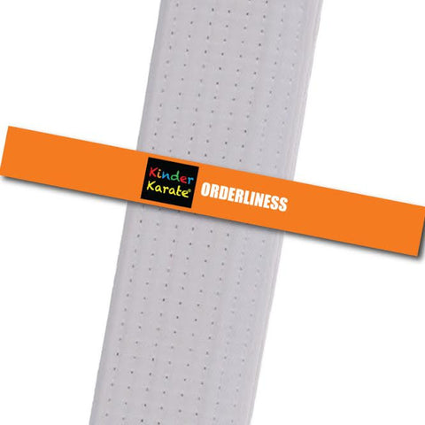 Kinder Karate - Orderliness Custom Belt Stripes - BeltStripes.com : The #1 Source for Martial Arts Belt Tape
