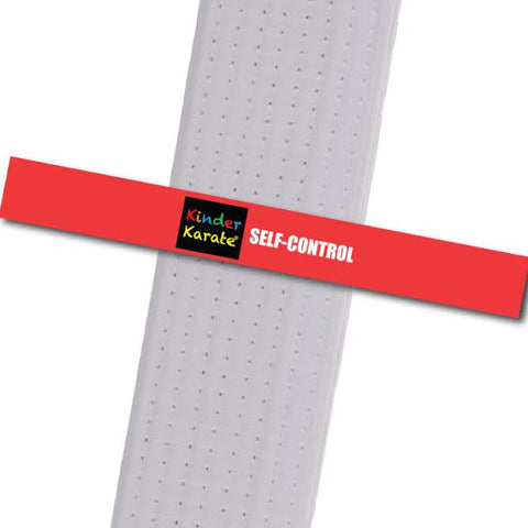 Kinder Karate - Self Control - BeltStripes.com