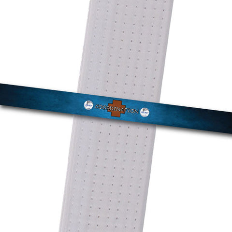 Legacy MA - Coordination Custom Belt Stripes - BeltStripes.com : The #1 Source for Martial Arts Belt Tape