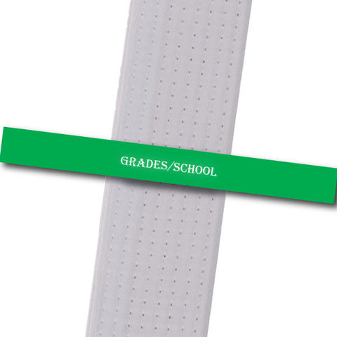 Legacy MA - Grades/School Achievement Stripes - BeltStripes.com : The #1 Source for Martial Arts Belt Tape