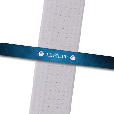 Legacy MA - Level Up - Blue Achievement Stripes - BeltStripes.com : The #1 Source for Martial Arts Belt Tape