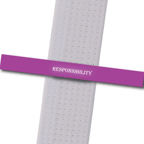 Legacy MA - Responsiblity Achievement Stripes - BeltStripes.com : The #1 Source for Martial Arts Belt Tape