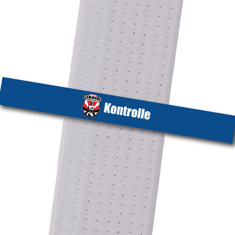 Lemmens Martial Arts - Kontrolle Achievement Stripes - BeltStripes.com : The #1 Source for Martial Arts Belt Tape