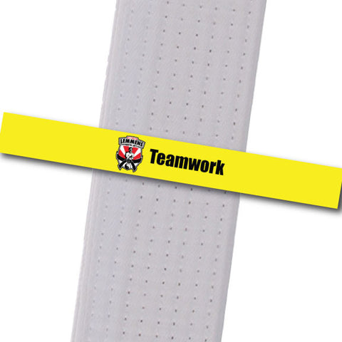 Lemmens Martial Arts - Teamwork Achievement Stripes - BeltStripes.com : The #1 Source for Martial Arts Belt Tape