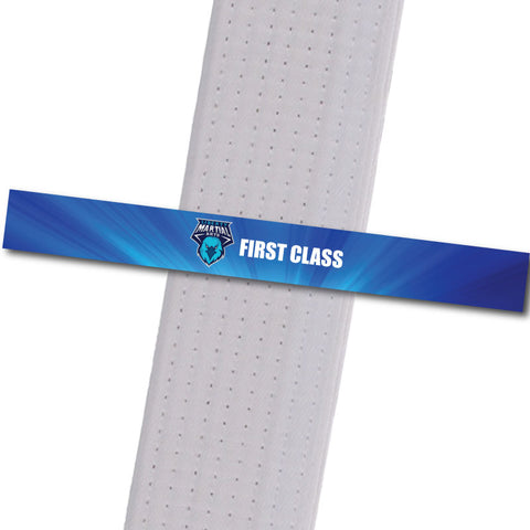 Liberty Martial Arts - First Class Custom Belt Stripes - BeltStripes.com : The #1 Source for Martial Arts Belt Tape
