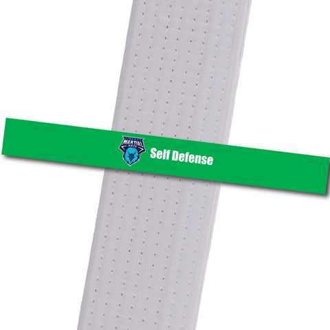 Liberty Martial Arts - Self Defense Custom Belt Stripes - BeltStripes.com : The #1 Source for Martial Arts Belt Tape