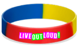 MatChats - Live Out Loud - Silicone Wrist Bands - Level 4: Champion