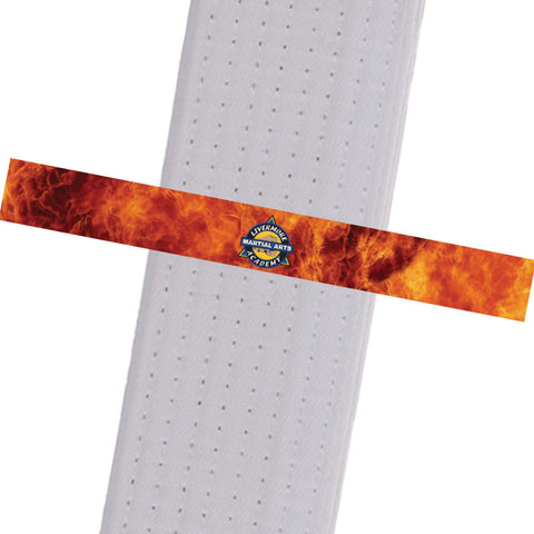 Livermore Martial Arts Academy BeltStripes - Fire Livermore Martial Arts Academy - BeltStripes.com : The #1 Source for Martial Arts Belt Tape