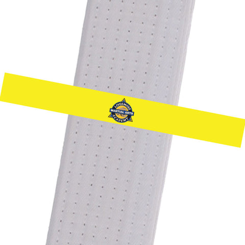 Livermore Martial Arts Academy BeltStripes - Yellow Livermore Martial Arts Academy - BeltStripes.com : The #1 Source for Martial Arts Belt Tape