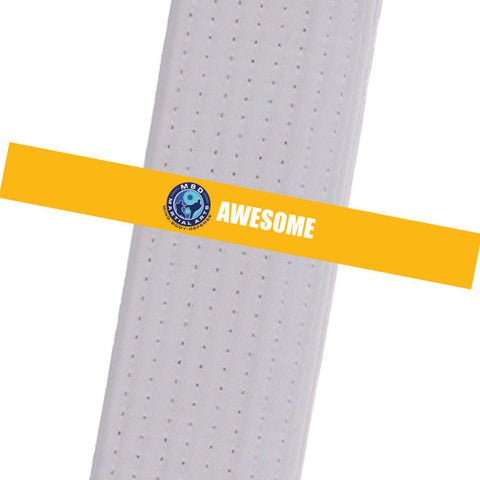 MBD Martial Arts - Awesome Custom Belt Stripes - BeltStripes.com : The #1 Source for Martial Arts Belt Tape