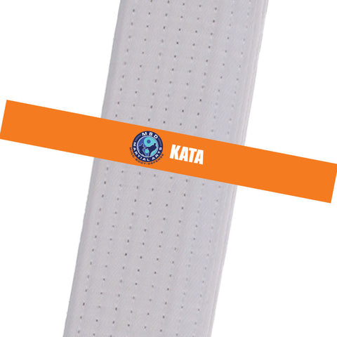 MBD Martial Arts - Kata Custom Belt Stripes - BeltStripes.com : The #1 Source for Martial Arts Belt Tape