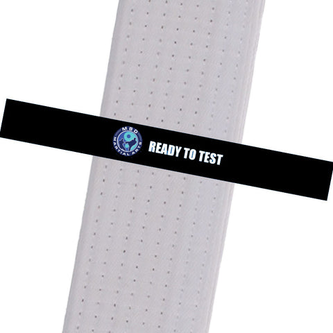 MBD Martial Arts - Ready to Test Custom Belt Stripes - BeltStripes.com : The #1 Source for Martial Arts Belt Tape