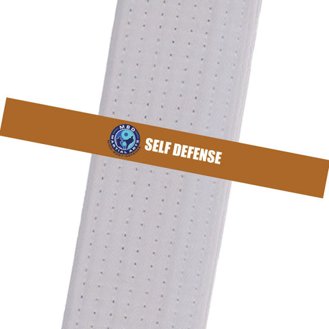 MBD Martial Arts - Self Defense Custom Belt Stripes - BeltStripes.com : The #1 Source for Martial Arts Belt Tape