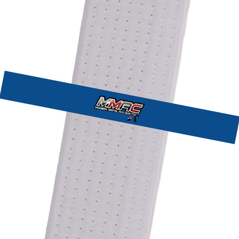 MMAC BeltStripes - Blue Custom Belt Stripes - BeltStripes.com : The #1 Source for Martial Arts Belt Tape