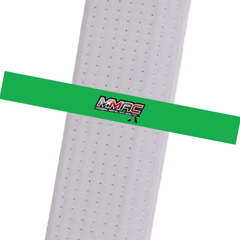 MMAC BeltStripes - Green Custom Belt Stripes - BeltStripes.com : The #1 Source for Martial Arts Belt Tape
