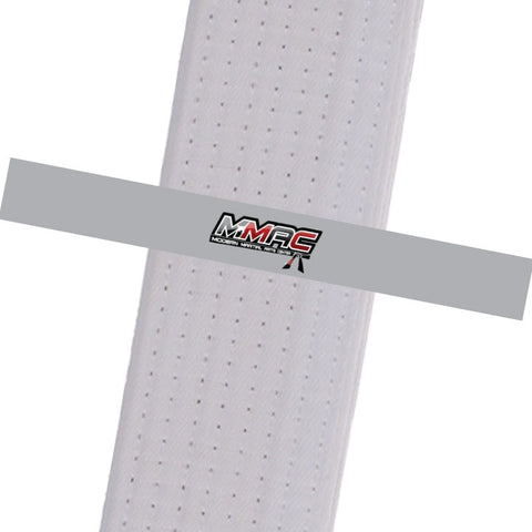 MMAC BeltStripes - Grey Custom Belt Stripes - BeltStripes.com : The #1 Source for Martial Arts Belt Tape