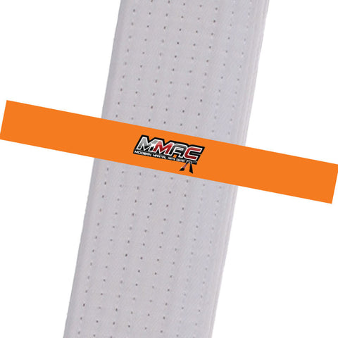 MMAC BeltStripes - Orange Custom Belt Stripes - BeltStripes.com : The #1 Source for Martial Arts Belt Tape