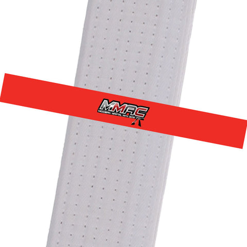 MMAC BeltStripes - Red Custom Belt Stripes - BeltStripes.com : The #1 Source for Martial Arts Belt Tape