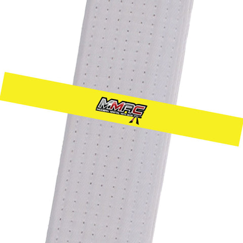 MMAC BeltStripes - Yellow Custom Belt Stripes - BeltStripes.com : The #1 Source for Martial Arts Belt Tape