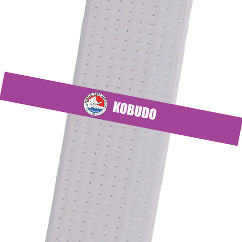 Martial Arts America - Kobudo Custom Belt Stripes - BeltStripes.com : The #1 Source for Martial Arts Belt Tape
