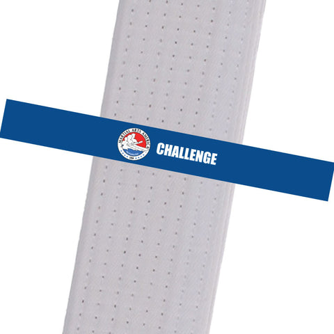 Martial Arts America - Challenge - Blue Custom Belt Stripes - BeltStripes.com : The #1 Source for Martial Arts Belt Tape