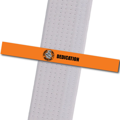 Master Curry MA - Dedication Achievement Stripes - BeltStripes.com : The #1 Source for Martial Arts Belt Tape