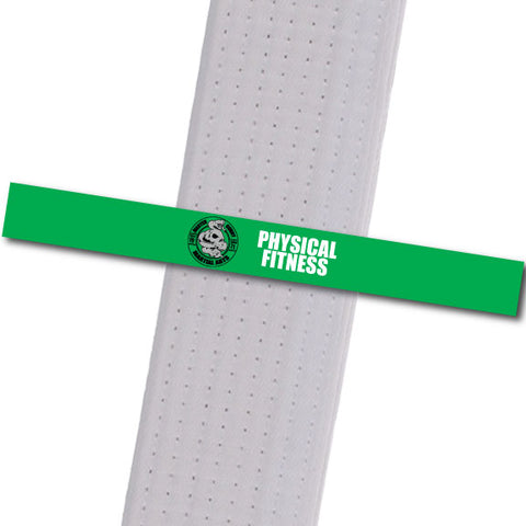 Master Curry MA - Physical Fitness Achievement Stripes - BeltStripes.com : The #1 Source for Martial Arts Belt Tape