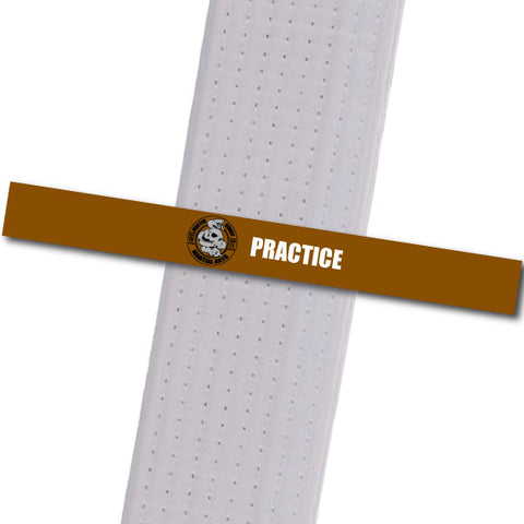 Master Curry MA - Practice Achievement Stripes - BeltStripes.com : The #1 Source for Martial Arts Belt Tape