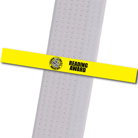Master Curry MA - Reading Award Achievement Stripes - BeltStripes.com : The #1 Source for Martial Arts Belt Tape
