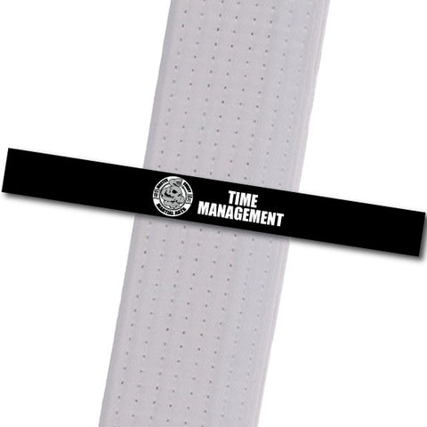 Master Curry MA - Time Management Achievement Stripes - BeltStripes.com : The #1 Source for Martial Arts Belt Tape